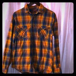 💗💗Men's plaid flannel button up